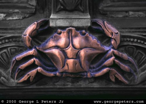 Brass Crab - by George L Peters Jr